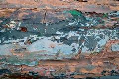 треснутая краска Стоковое Изображение