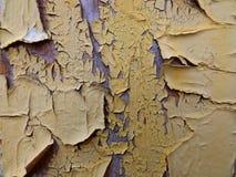 треснутая краска Стоковая Фотография