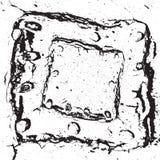 Треснутая первоначально рамка Стоковые Изображения RF