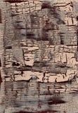 Треснутая покрашенная поверхностная текстура Стоковое Изображение