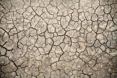 треснутая почва Кении Стоковое Изображение