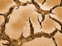 треснутая почва стоковое изображение rf