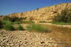 Треснутая пустыня Испания Bardenas Reales глины Стоковое Изображение RF