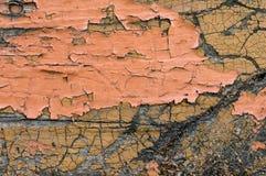 треснутая древесина краски Стоковые Фотографии RF