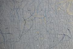 треснутая старая краска текстура Стоковое фото RF