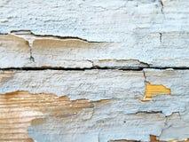 треснутая старая краска Стоковое Изображение