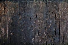 треснутая старая древесина текстуры Внешняя деревенская деревянная поверхность с отказом Стоковые Фотографии RF