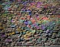 Треснутая старая стена как предпосылка стоковые изображения rf