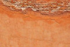 треснутая стена Стоковая Фотография RF