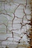 треснутая стена Стоковое Изображение RF