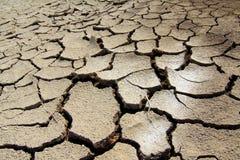 треснутая сухая почва Стоковое Изображение RF