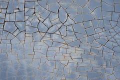 Треснутая текстура краски Стоковые Фото