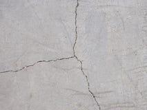 Треснутая текстура пола Стоковое Изображение