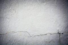 Треснутая текстура предпосылки стены серая Стоковое Изображение RF