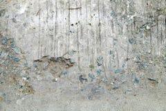 Треснутая текстура цемента земная Стоковые Изображения RF