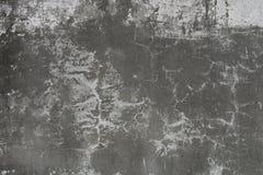 треснутая темная стена Стоковое фото RF