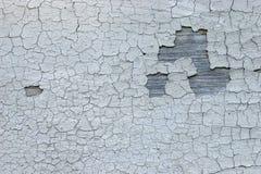 треснутая увяданная краска Стоковая Фотография RF