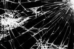 треснутое стекло стоковая фотография rf