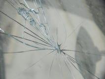 треснутое стекло Стоковое Изображение