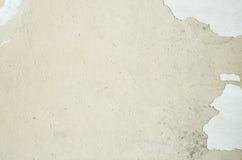 Треснутый бетон, винтажная трещина на старой предпосылке, старой стене Стоковая Фотография