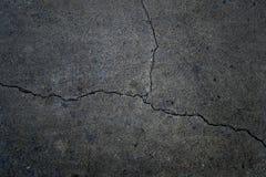 треснутый бетон предпосылки Стоковые Изображения RF