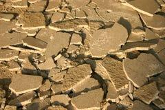треснутый бетон Стоковое Фото