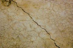 треснутый бетон Стоковые Изображения