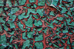 Треснутый зеленый цвет Стоковое Изображение RF
