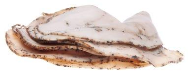 треснутый индюк перца мяса обеда Стоковая Фотография