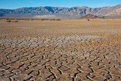 треснутый ландшафт земли Стоковое фото RF