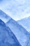 треснутый льдед Стоковая Фотография