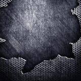 треснутый металл Стоковая Фотография RF