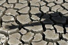 треснутый относящий к окружающей среде стоп земного загрязнения Стоковая Фотография RF