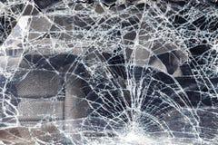 треснутый windscreen корабля Стоковые Фото