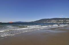 Третий пляж в парке Стэнли Стоковые Изображения RF