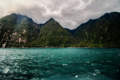 Трети Milford Sound Стоковые Фото