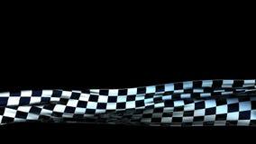Третье Checkered ткани более низкое, безшовная петля, альфа иллюстрация вектора