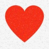 треугольники мозаики сердца Стоковые Изображения RF