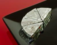 треугольники плиты сыра Стоковая Фотография RF
