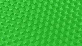 Треугольники сформировали волну акции видеоматериалы