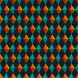 Треугольники Festa Junina геометрические и картина диамантов безшовная иллюстрация вектора