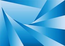 Треугольники Gradating конспекта голубые текстурируют предпосылку иллюстрация вектора
