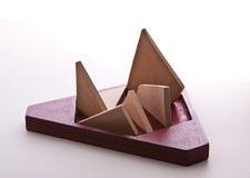 треугольник головоломки Стоковые Изображения RF