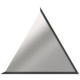 треугольник стали 3d Стоковые Изображения