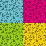 треугольник цвета Иллюстрация вектора