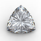 треугольник черного алмаза 3d Стоковые Фото