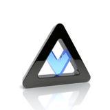 треугольник иллюстрация вектора