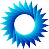 Треугольники в cyrcle Стоковые Фотографии RF