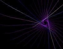 Треугольники и лучи фрактали красочные бесплатная иллюстрация