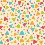 треугольники картины безшовные предпосылка геометрическая иллюстрация штока